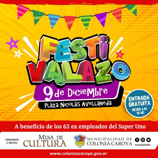 festivalazo a beneficio del super uno