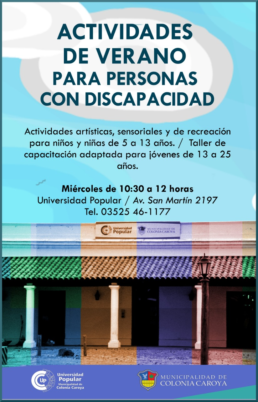 universidad popular personas con discapacidad